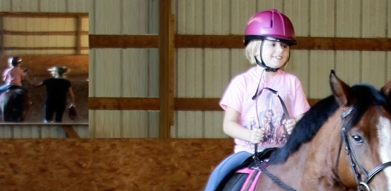 horseback riding lessons near river falls wi